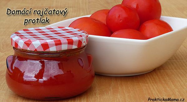 Domácí rajčatový protlak