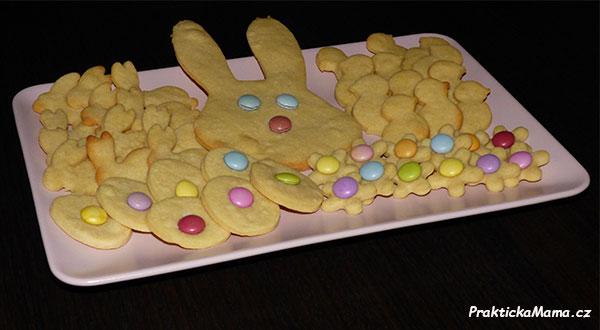 Máslové sušenky – nejen na Velikonoce