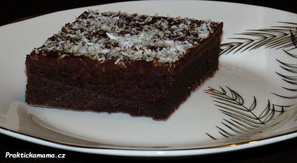 Perník s čokoládovým pudinkem
