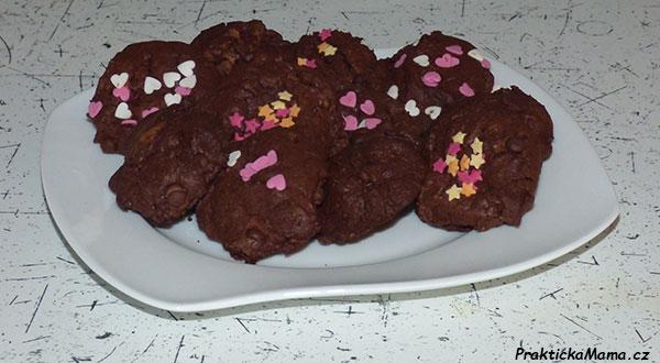 Extra čokoládové sušenky