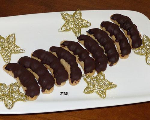 Rohlíčky s čokoládovým krémem