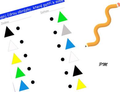 Spojovačka – trojúhelníky