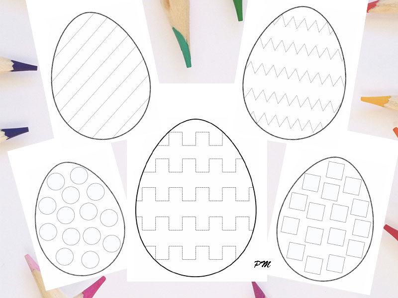 Velikonoční vajíčka – obtahovačky